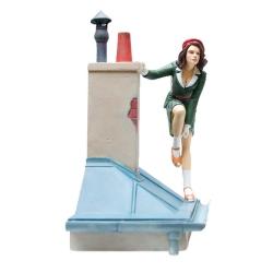 Figurine Attakus Le Vol du Corbeau: Jeanne sur les toits de Paris C791 (2018)