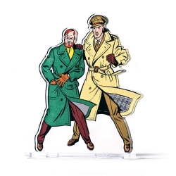 Acrylic Figurine Art To Print Blake and Mortimer The Yellow M (30,9cm)