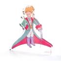 Figurine en acrylique Art To Print Le Petit Prince en habit de prince (11cm)