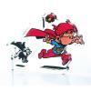 Collectible Acrylic Figurine Art To Print Young Spirou Superhero (10cm)