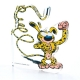 Collectible Acrylic Figurine Art To Print The Marsupilami Muscular (10cm)