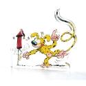 Figura en acrílico Art To Print El Marsupilami con su cohete (10cm)