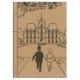 Carnet de notes Tintin Le château de Moulinsart 18x25cm (54369)