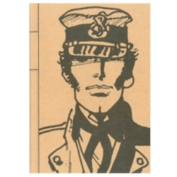 Carnet de notes Tintin Corto Maltese Portrait (18x25cm)