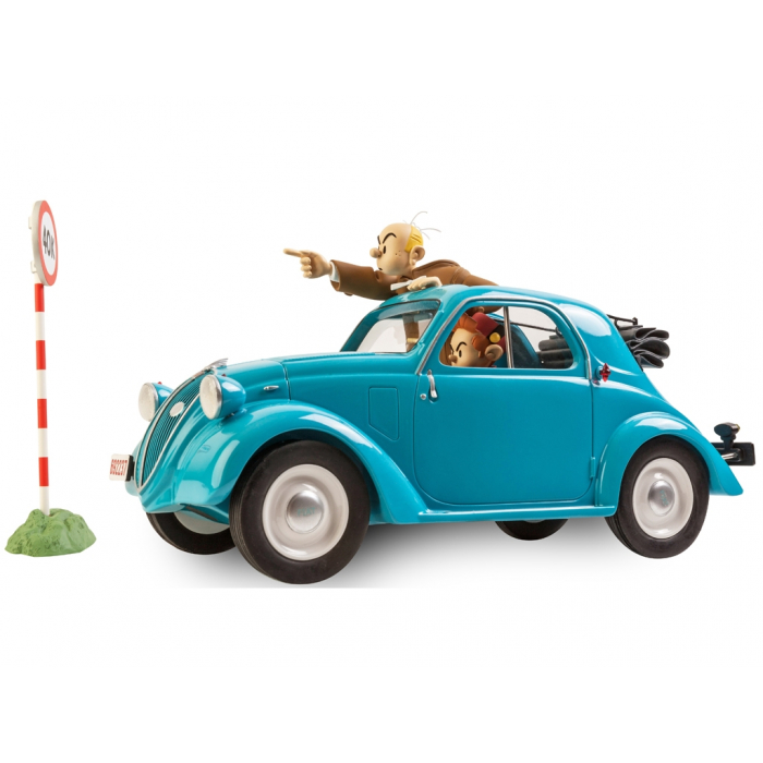 The Fiat Topolino 1937 Spirou and Fantasio Figures et Vous - GF07 (2015)