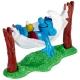 The Smurfs Schleich® Figure - The Smurf in his hammock (40226)