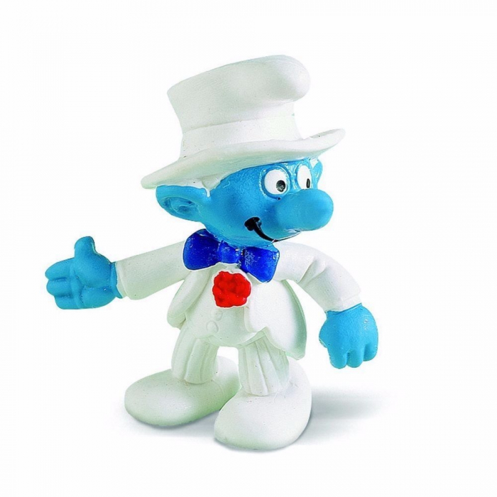 The Smurfs Schleich® Figure - The Smurf Bridegroom (20413)