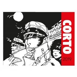 Calendrier de bureau 2019 Corto Maltese 15x21cm (24404)