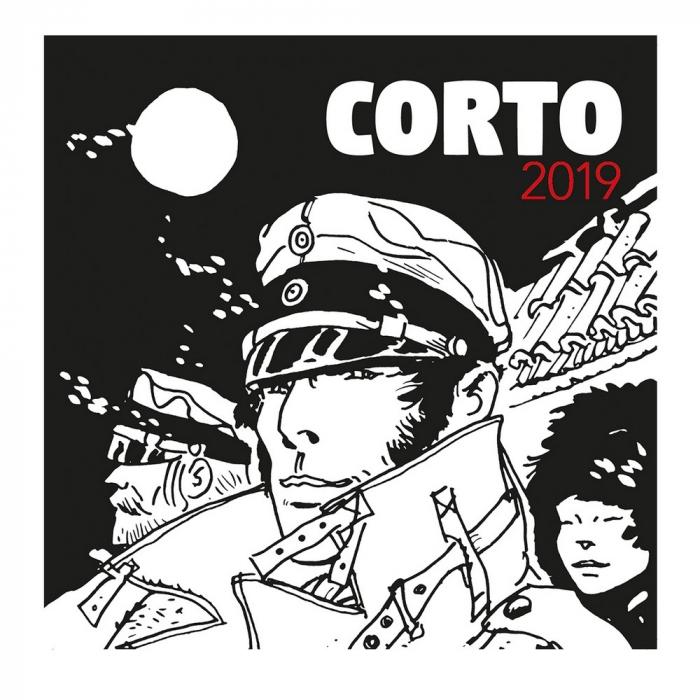 Calendrier mural 2019 Corto Maltese 30x30cm (24402)