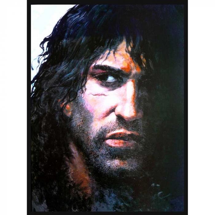 Póster cartel offset Thorgal, Rosinski Retrato de Thorgal (30x40cm)