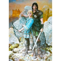 Poster affiche offset Thorgal, Rosinski Moi, Jolan (50x70cm)