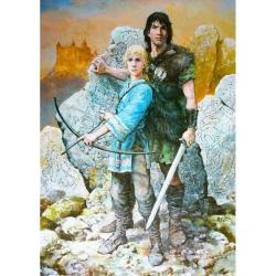 Poster offset Thorgal, Rosinski, Moi, Jolan (50x70cm)