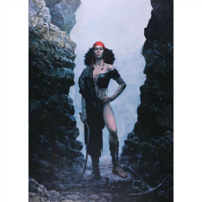 Poster affiche offset Thorgal, Rosinski Kriss de Valnor (50x70cm)