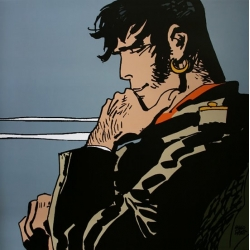 Poster offset Corto Maltese, A Hero, Me... (60x60cm)