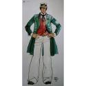 Poster offset Corto Maltese, 40 years (50x100cm)
