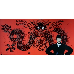 Poster offset Corto Maltese, Mythology (50x25cm)