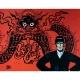 Poster offset Corto Maltese, Mythology (24x18cm)