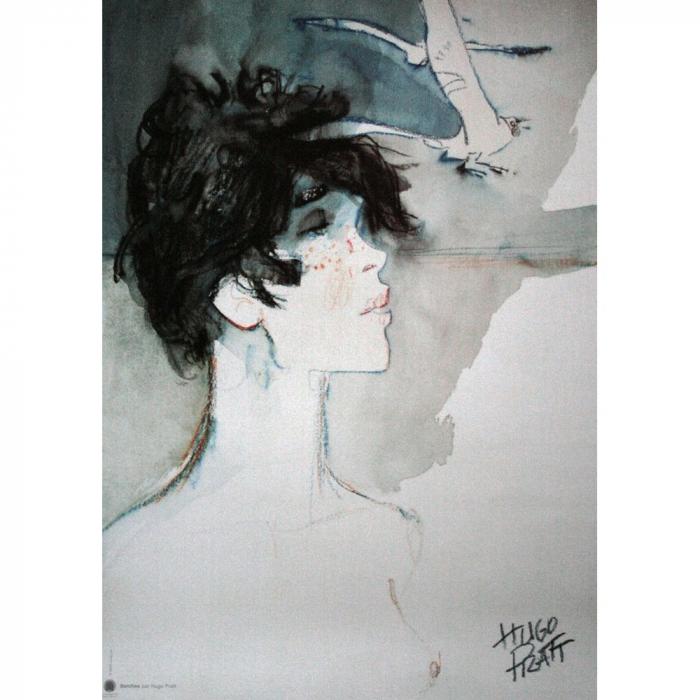 Poster offset Corto Maltese, Banshee (18x24cm)