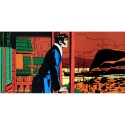 Poster offset Corto Maltese, Mysteries in Hong Kong (50x25cm)