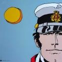 Poster offset Corto Maltese, Secret trips (70x70cm)