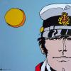 Poster affiche offset Corto Maltese, Périples secrets (30x30cm)