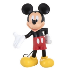 Statue by Leblon-Delienne Disney Mickey Mouse Polychrome Life-Size (2017)