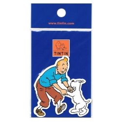 Decorative Magnet of The Adventures of Tintin: Tintin and Snowy (16000)