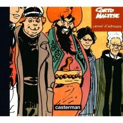 Carnet d'adresses Casterman, Corto Maltese 19x16cm (2001)