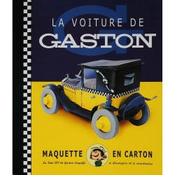 Maquette voiture collection Michel Aroutcheff Gaston Lagaffe: La Fiat 509 (2000)