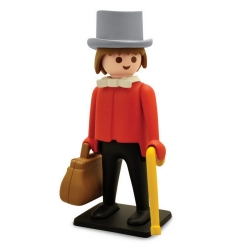 Figurine de collection Plastoy Playmobil le Banquier du Far West 00211 (2018)