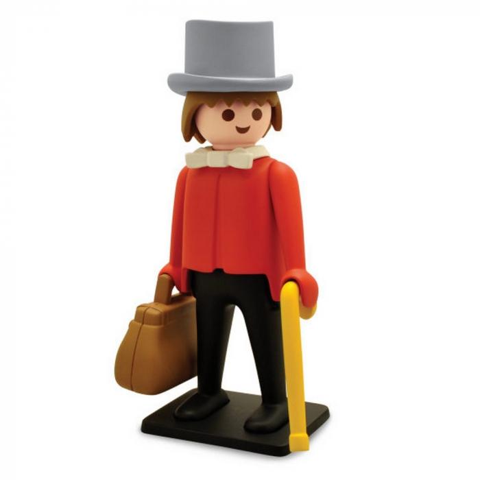 Figura de colección Plastoy Playmobil el Banquero del Far West 00211 (2018)