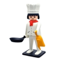 Figurine de collection Plastoy Playmobil le cuisinier 00210 (2018)