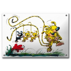 Comics enamel sign collection Coustoon The Marsupilami Family COUS05 (2012)