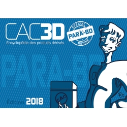 Collectible Figurine Art To Print Young Spirou + CAC3D Special Resin (2018)