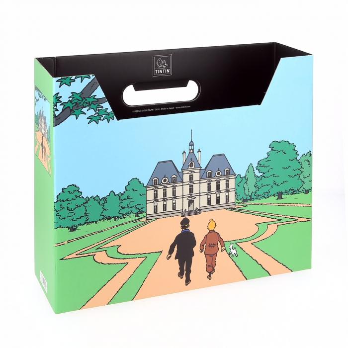 Caja archivador DIN A4 Las aventuras de Tintín Castillo de Moulinsart (54370)