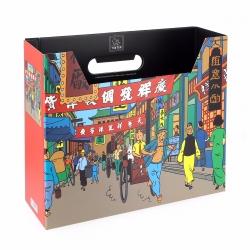 Caja archivadora DIN A4 Las aventuras de Tintín Shanghái (54371)