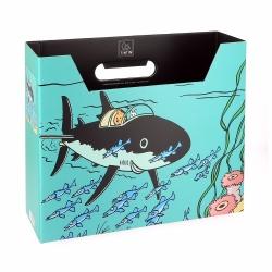 Caja archivadora DIN A4 Las aventuras de Tintín Tiburón Submarino (54372)