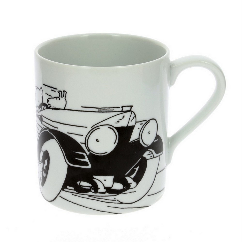 tasse mug en porcelaine tintin au pays des soviets 47974 bd addik. Black Bedroom Furniture Sets. Home Design Ideas