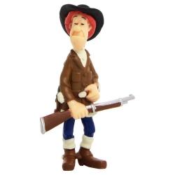 Collectible figure Plastoy Lucky Luke Calamity Jane 63111
