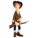 Figura de colección Plastoy Lucky Luke Calamity Jane 63111 (2010)