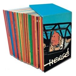 Coffret intégral 24 Albums 90ème anniversaire des aventures de Tintin (2018)