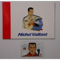 Tarjeta telefónica de colección Belgacom Michel Vaillant (1998)