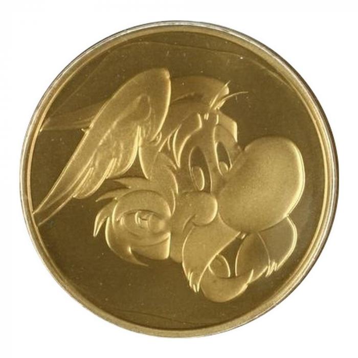 Médaille de collection Monnaie Royale de Belgique Astérix (2005)