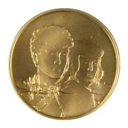 Médaille de collection Monnaie Royale de Belgique Alix (2005)