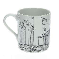 Taza mug en porcelana Moulinsart Corto Maltés (Venecia)
