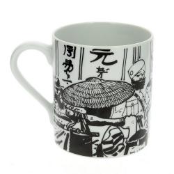 Taza mug en porcelana Moulinsart Corto Maltés (Siberia)