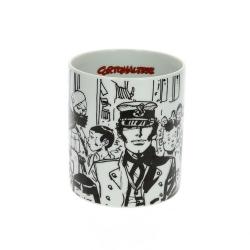 Porcelain mug Moulinsart Corto Maltese (Siberia)