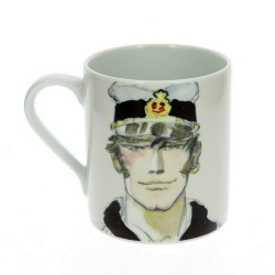 Taza mug en porcelana Moulinsart Corto Maltés (Retrato)