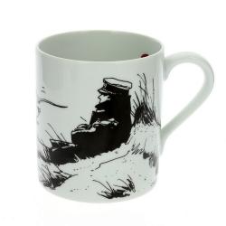 Tasse mug en porcelaine Moulinsart Corto Maltese (Marin)