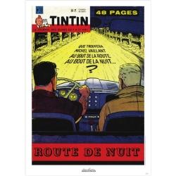 Póster de portada Jean Graton en El Journal de Tintin 1960 Nº13 (50x70cm)